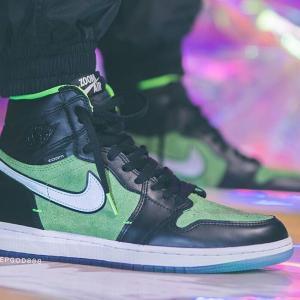 "Nike Air Jordan 1 Retro High Zoom ""Rage Green""【6/20 発売】ナイキ エア ジョーダン ワン レトロ ハイ ズーム"