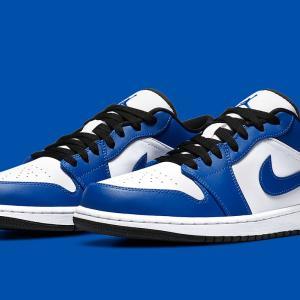 """Nike Air Jordan 1 Low """"Game Royal""""【発売未定】ナイキ エア ジョーダン ワン ロー ゲーム ロイヤル"""