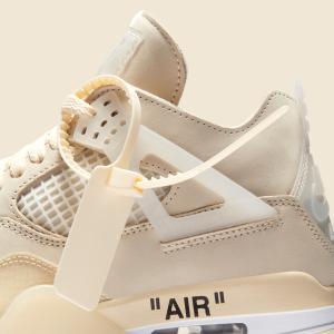 Off-White x Nike Air Jordan 4 WMNS【7/25発売】オフホワイト ナイキ エア ジョーダン 4 ウィメンズ