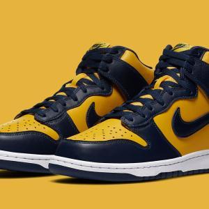"Nike Dunk High SP ""Michigan""【9/23発売】ナイキ ダンク ハイ ミシガン"