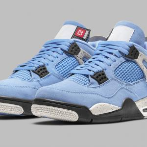 "Nike Air Jordan 4 ""University Blue""【4/28発売】ナイキ エア ジョーダン フォー ユニバーシティ ブルー"