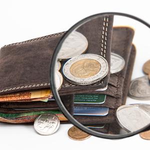 借金主婦の残高と今月の食費