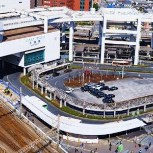 JR千葉駅東口の再開発工事と『今日から俺は!!』