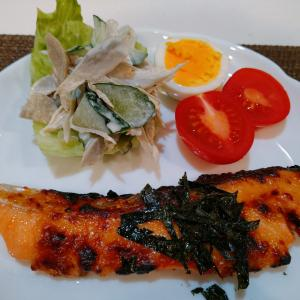ご飯に合う\♡︎/︎鮭のマヨ味噌焼き