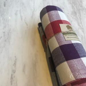 タイらしい風合いの布「パーカオマー」