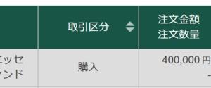 【40万円分購入しました】NYダウ暴落時の投資