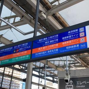 武蔵小杉駅の案内板の不思議