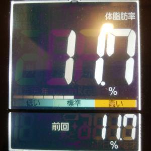 体脂肪率11.7%