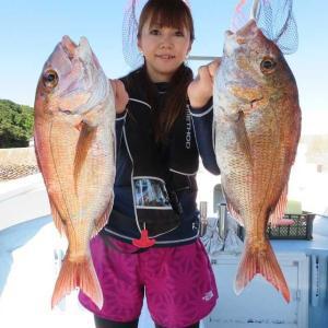 二児の母・魚釣った凄い