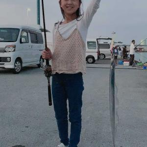 6年生の莉愛が釣ったゾウ