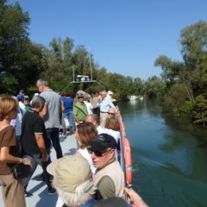 船でオルガン巡り シーレ川