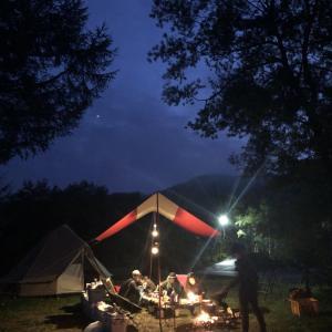 キャンプ行きた~い!