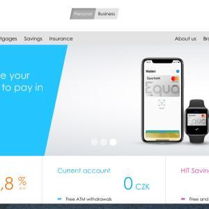 海外銀行口座開設(Equa bank:チェコ共和国)