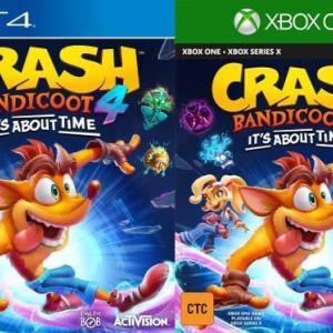 【リーク情報】新キャラ登場?PS4でクラッシュバンディクー4の新作かリメイクが発売するかもしれない!