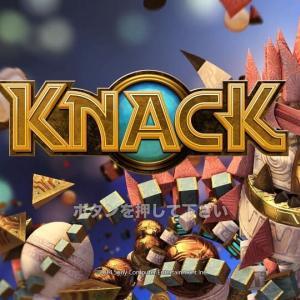 【レビュー】PS4『KNACK(ナック)』アニメ映画のような壮大なストーリーと自在に姿を変える不思議なナックの大冒険!【評価・感想】