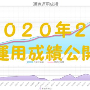 【2020年2月】運用成績公開