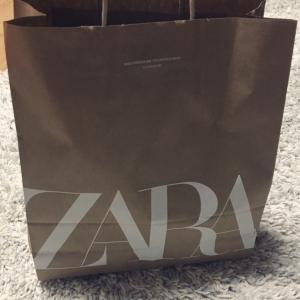 ZARAで初めての購入品