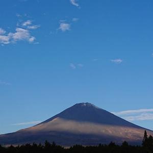 11/30の富士山