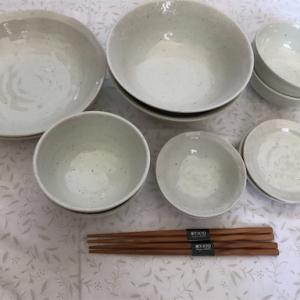 【テーブルウェア】楽天みのる陶器*おしゃれな日本製、美濃焼の食器がプチプラ*雪粉引12点セットがお得でおすすめ