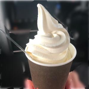 帯広市「満寿屋商店麦音」ソフトクリームを食べてみた