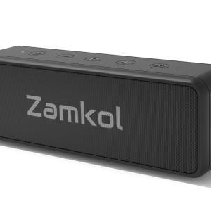 Zamkol ZK106 Bluetoothスピーカーの口コミ・評判、レビュー