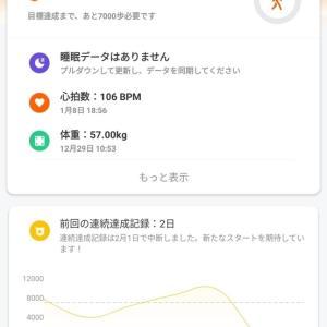 健康の見える化~Xiaomi SmartBand4~