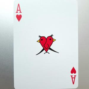 ♥️Aに現れた「重なる赤い鳥」
