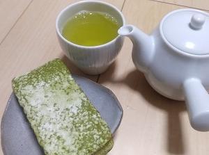 お茶で気つけ?