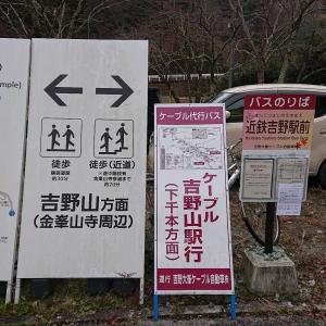 近鉄フリーきっぷ その6 金峯山寺へ