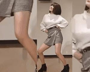 巨乳タイトスカートミニのお姉さんのおねがいダーリンは腰振りが良き。KINGではハイキックパンチラがしっかり確認。その他着衣おっぱいやK-POPを踊る素人雌など新作紹介。