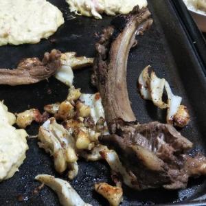 男の家庭ジビエ料理♪ またまた猪のスペアリブ!
