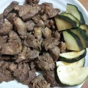 男の家庭ジビエ料理♪熊肉の生姜焼き