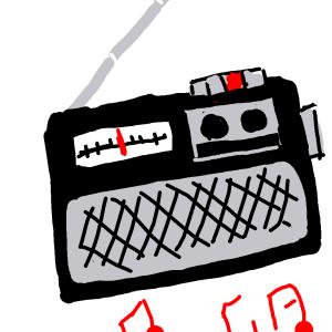 1986ラジオから流れる〜をぱーん!