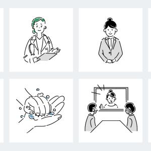 テイストが揃っていて使いやすいイラスト素材配布サイト「Loose Drawing」