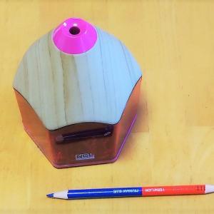 電動鉛筆削り おすすめ 子供 でも簡単。鉛筆型でかわいい。電池式でどこでも置ける【ブログ】