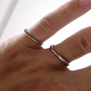 結婚指輪をコレに決めたのはGWでした。