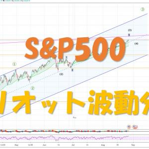 S&P500 エリオット波動分析 2020/09/04