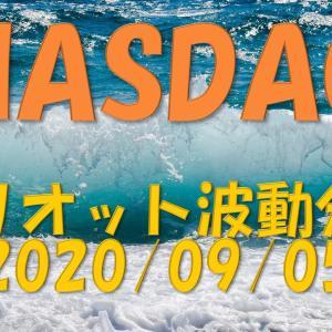 NASDAQエリオット波動分析 2020/09/05