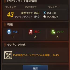 【リネM】3/25~3/31のPvP感想戦。 - きよM.111 -
