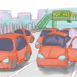 【自動車雑感】カーシェアリングの未来を想像する
