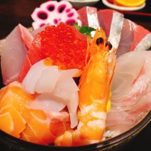 13・海源〜圧巻!厚切り海鮮丼定食