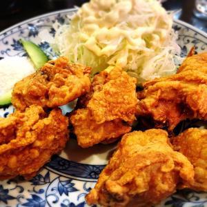 18・新生飯店〜繁華街の町中華①鶏の唐揚げ、ギョーザ、肉だんご編