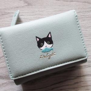 ハチワレ白黒猫ちゃんのお財布
