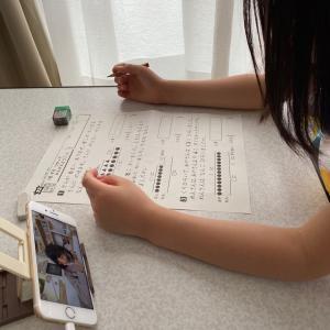 私と一緒じゃないかーー❣️〜娘、宿題をやるの巻〜