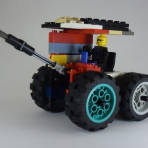 子どもがLEGOで作る車がいきなりレベルアップしている