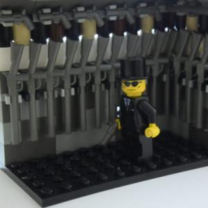 LEGOで作る武器庫