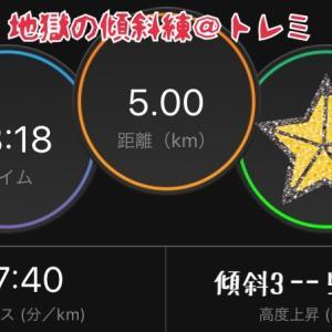 9月23日 ジム活3時間(トレミラン5km含む)&夜バイク