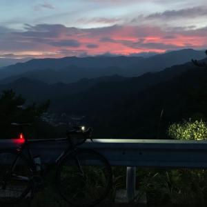 朝練@ブドマツ南北〜梓山〜西栗子トンネル
