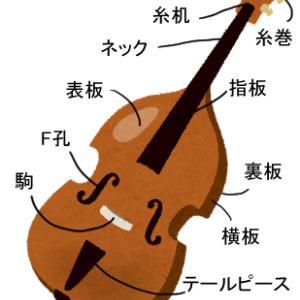 コントラバス弾き方講座7:楽器のパーツ