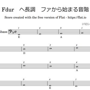コントラバス弾き方講座9:ポジション